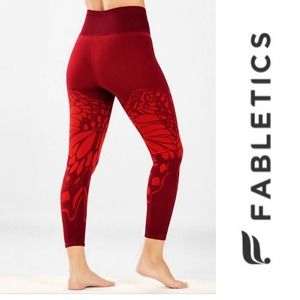 Fabletics High-Waisted Seamless Butterfly Leggings
